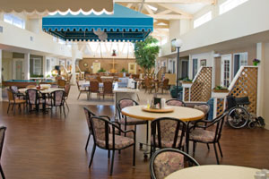 Consultant services linda roberts associates for Nursing home dining room ideas